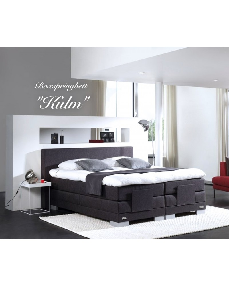 boxspringbett kulm elektrisch verstellbar. Black Bedroom Furniture Sets. Home Design Ideas