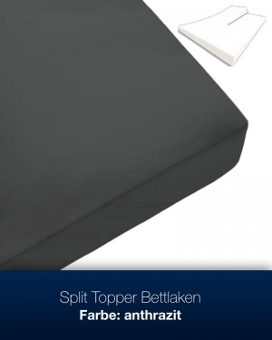 Split Topper Bettlaken / 100% Baumwolle!